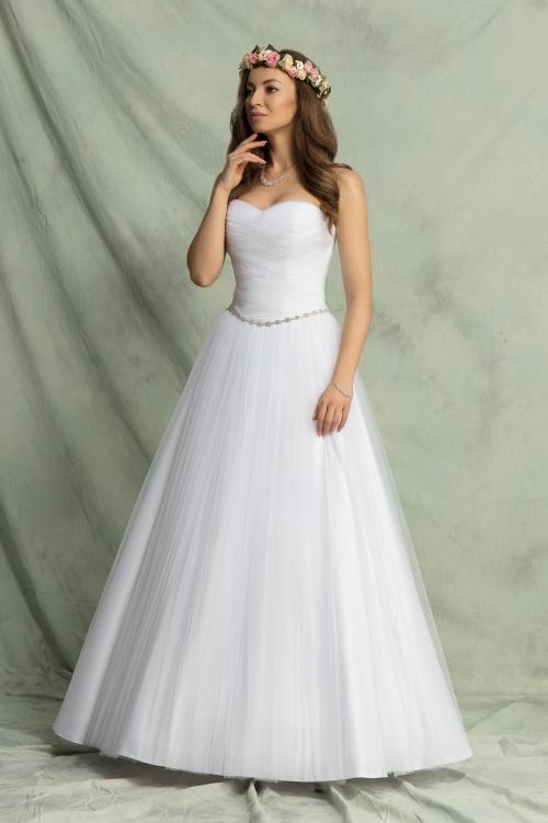 f9e72ca67e Suknia Ślubna Model Faro A 353 - Bolerka