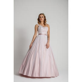 fe449c9027 Suknia Model A 345 Ciemny Róż Koronkowy Gorset · Zapytaj o cenę · Schowek ·  Porównaj · Bolerko ślubne