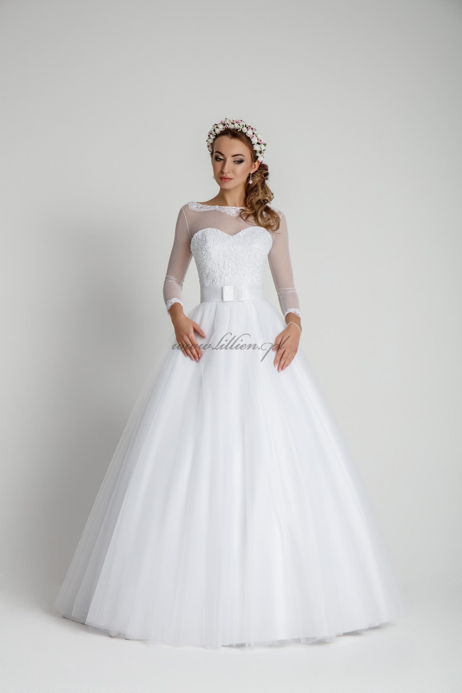 Suknia ślubna A 339 Bolerko Koronka Bolerka Welony I Inne